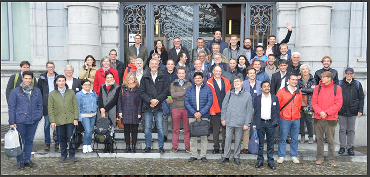 Successful conference days in Namur, Belgium